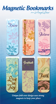Believe, Trust, Assorted Magnetic Bookmarks, Set of 6  -