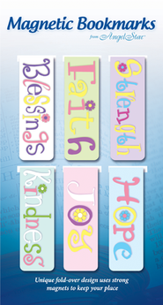 Gratitude, Believe, Assorted Magnetic Bookmarks, Set of 6  -