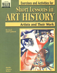 Exercises and Activities for Short Lessons in Art History  -     By: Phyllis Clausen Barker