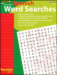 Spanish Word Searches, Book 1  -