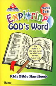 Exploring God's Word Kids Handbook (Grades 5-6)  -