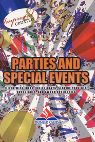 Parties and Special Events  -