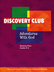 Adventures with God Leader Plan Book   -