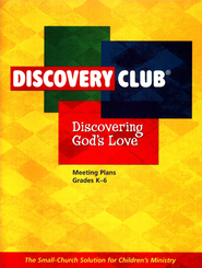 Discovering God's Love Leader Plan Book   -