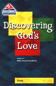 Discovering God's Love, Kids Bible Award Handbook, Grades 3-6    -
