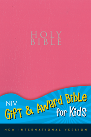 NIV Gift & Award for Kids, Pink Leather-Look  - Slightly Imperfect  -