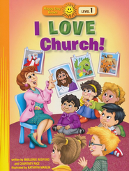 I Love Church!  -     By: Marjorie Redford, Courtney Rice