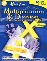 Math Tutor: Mastering Multiplication & Division Gr 4-12  -     By: Hal Torrance