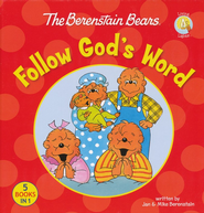 Living Lights: The Berenstain Bears Follow God's Word   -              By: Jan Berenstain, Mike Berenstain