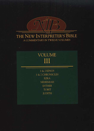 New Interpreter's Bible Volume 3: 1 Kings - Esther, Tobit, & Judith  -     Edited By: Leander E. Keck
