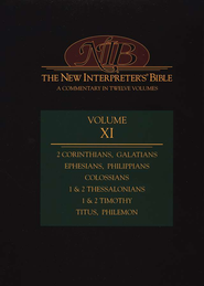 New Interpreter's Bible Volume 11: 2 Corinthians - Philemon - Slightly Imperfect  -