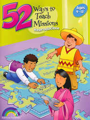 52 Ways to Teach Missions  -     By: Nancy Williamson