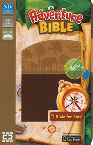 NIV Adventure Bible, Italian Duo-Tone, Chocolate/Toffee  -              By: Lawrence O. Richards