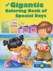 The Gigantic Coloring Book of Special Days   -