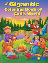 The Gigantic Coloring Book of God's World   -