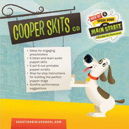 IO Cooper Puppet Scripts CD  -