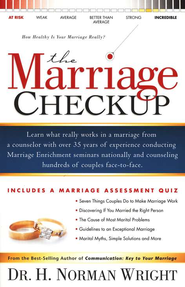 The Marriage Checkup                  - Slightly Imperfect  -     By: H. Norman Wright