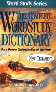 The Complete Word Study Dictionary, New Testament --              Slightly Imperfect  -