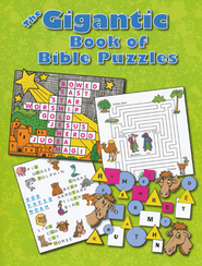 The Gigantic Book of Bible Puzzles  -