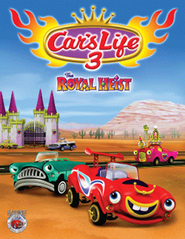 Car's Life 3: The Royal Heist, DVD   -