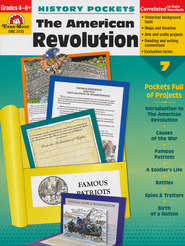 History Pockets: The American Revolution, Grades 4-6  -
