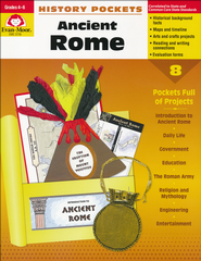History Pockets: Ancient Rome, Grades 4-6  -