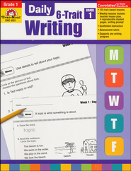 Daily 6-Trait Writing, Grade 1  -