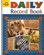 Daily Record Book, Safari Edition   -