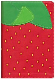 NIV, Fruit of the Spirit Bible Collection, Italian Duo-Tone, Strawberry  -