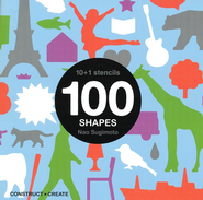 10+1 Stencils: 100 Shapes   -     By: Nao Sugimoto