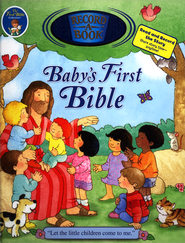 Baby's First Bible Record-A-Book  -              By: Sally Lloyd-Jones, Lori C. Froeb