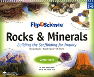 Flip4Science Rocks & Minerals Teacher's Guide & Center Book  -