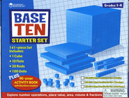 Blue Plastic Base Ten Starter Kit   -