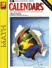 Time Concepts Series: Calendars, Grades 4-6   -
