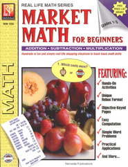 Real Life Math: Market Math for Beginners   -