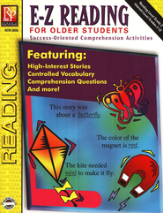 E-Z Reading for Older Students   -