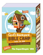 God's Backyard Bible Camp - Under the Sun VBS: SuperSimple VBS Kit  -