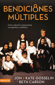 Bendiciones Multiples  (Multiple Blessings)  -     By: Jon Gosselin, Kate Gosselin, Beth Carson