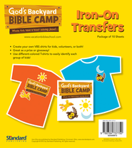 Under the Sun/Under the Stars VBS: Iron ons  -