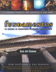 Fundamentos, Gu&#237a del Alumno  (Foundations, Student Guide)  -     By: Tom Holladay, Kay Warren