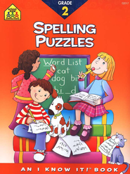 Spelling Puzzles, Grade 2 I Know It! series  -