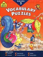 Vocabulary Puzzles, Grade 2 I Know It! Series  -
