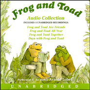 Frog and Toad, Audio Collection, 4 Unabridged   Recordings, Preformed by Arnold Lobel, 90 Minutes,2 CDs  -     By: Arnold Lobel