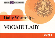 Daily Warm-Ups: Vocabulary   -