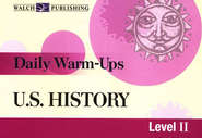 Daily Warm-Ups: U.S. History, Level 2   -     By: Lisa French