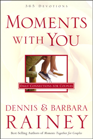 Moments with You: 365 All-New Devotions for Couples - Slightly Imperfect  -              By: Dennis Rainey, Barbara Rainey
