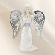 Lord Hear My Prayer Kneeling Angel Figurine  -