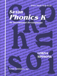 Saxon Phonics K, Teaching Tools   -