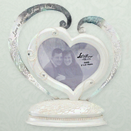 Photo Frame cake Topper Figurine  -