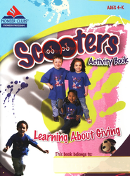 Learning About Giving Activity Book  -     By: Pioneer Clubs